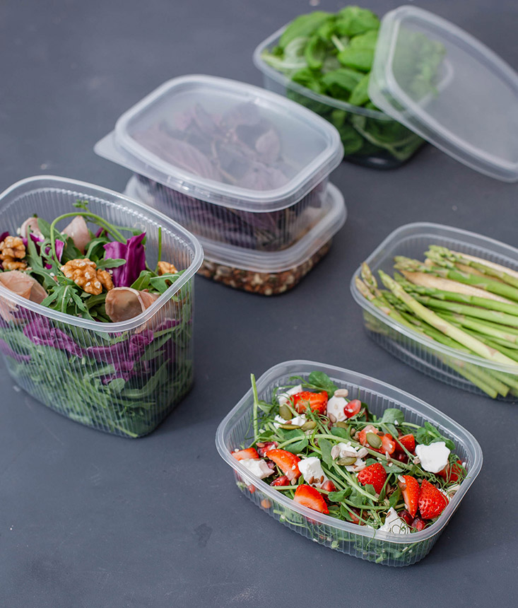 Фото контейнера с едой